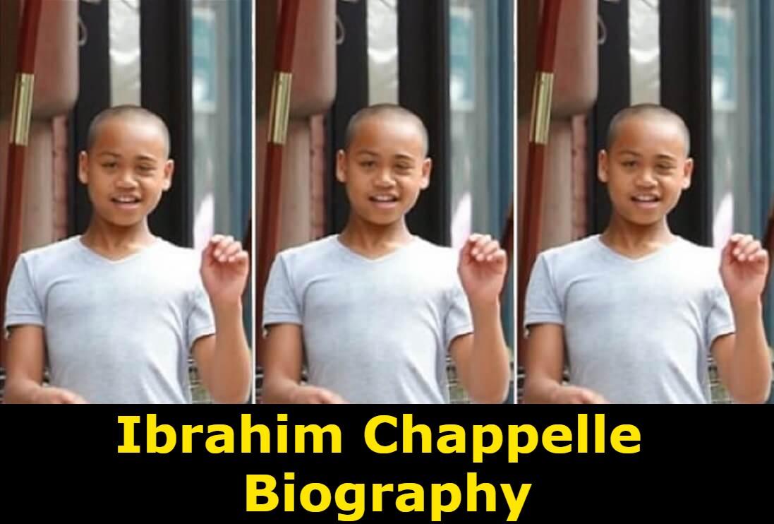 Ibrahim Chappelle Biography