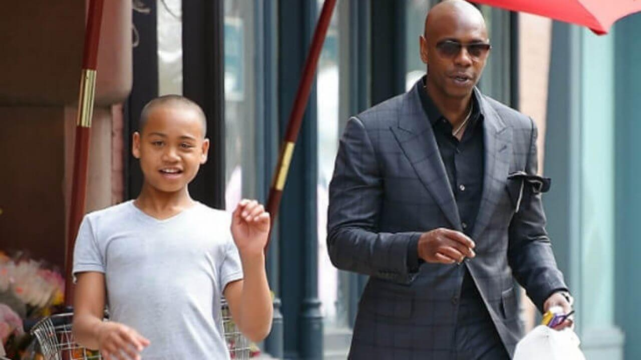 Ibrahim Chappelle With Father