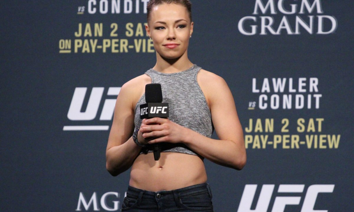 rose namajunas record